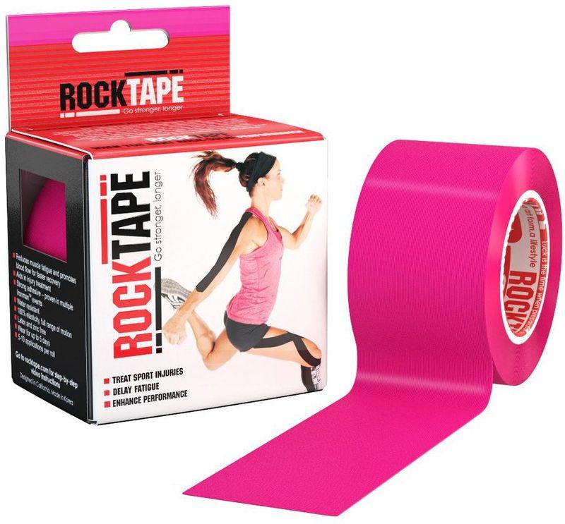 Кинезиотейп Rocktape, цвет: розовый, 5 см х 5 м1103-008Материал: 97% хлопок, 3% нейлон 6/12Стойкая гипоаллергенная клеевая основаЭластичность: 180-190% (!)Плотная волнообразная структура тканиВодостойкийНосится, не теряя свойств, до 5 днейПроизводство: США/Корея