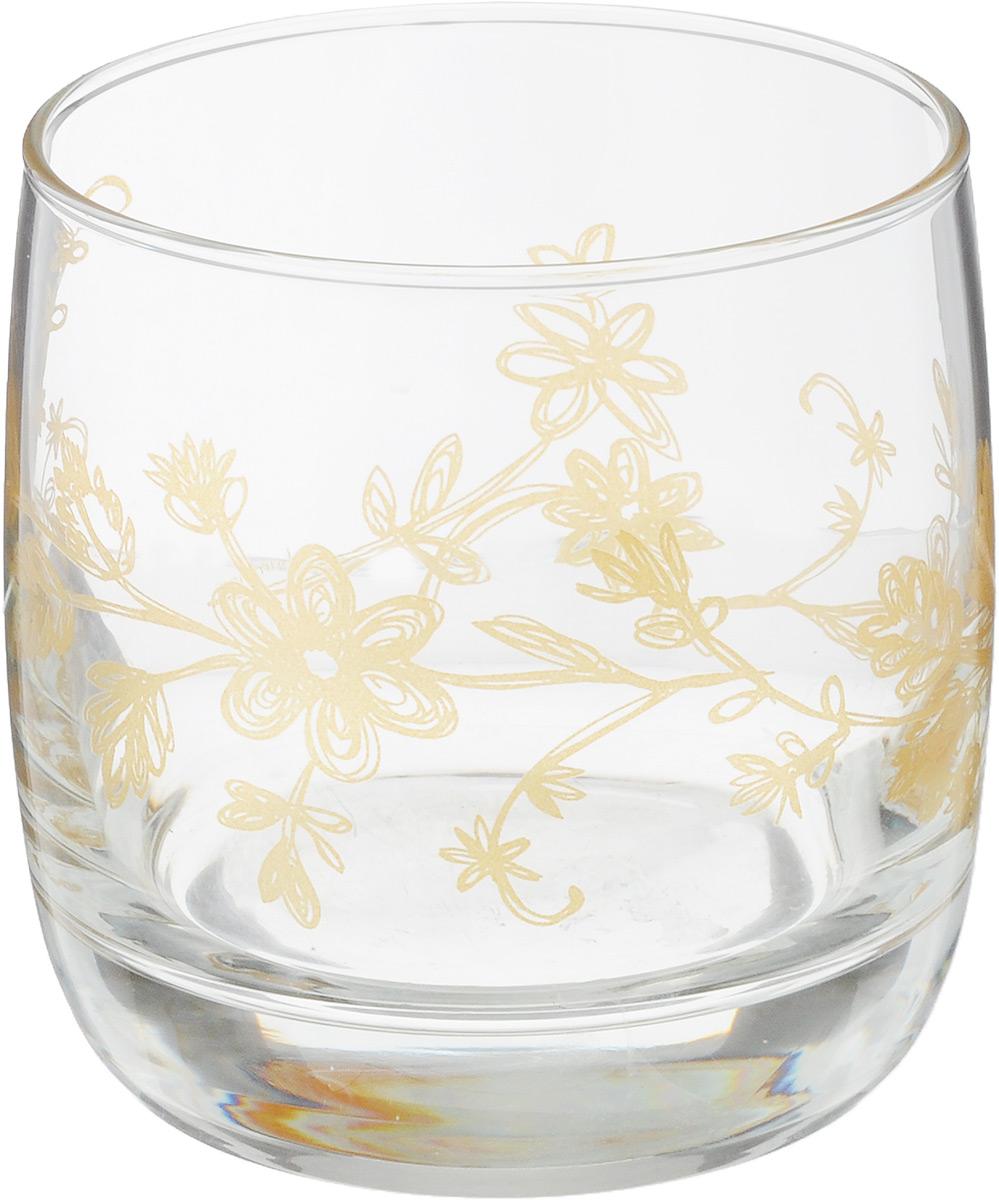 Стакан OSZ Летний микс, цвет: прозрачный, золотой, 300 млVT-1520(SR)Стакан OSZ Летний микс изготовлен из стекла. Идеально подходит для сервировки стола.Стакан не только украсит ваш кухонный стол, но и подчеркнет прекрасный вкус хозяйки. Диаметр стакана (по верхнему краю): 7,5 см. Диаметр основания: 6,5 см. Высота стакана: 8,5 см.