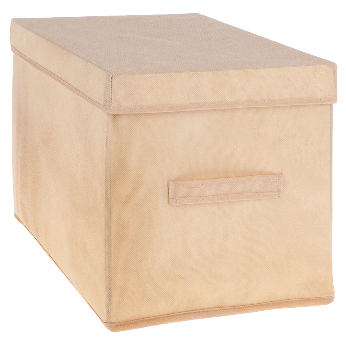 Коробка для вещей и игрушек Все на местах Minimalistic, с крышкой, цвет: бежевый, 30 х 30 х 30 см1011034.Коробка с крышкой Minimalistic выполнена из высококачественного нетканого материала, который обеспечивает естественную вентиляцию и предназначен для хранения вещей или игрушек.Он защитит вещи от повреждений, пыли, влаги и загрязнений во время хранения и транспортировки. Размер коробки: 30 х 30 х 30 см.