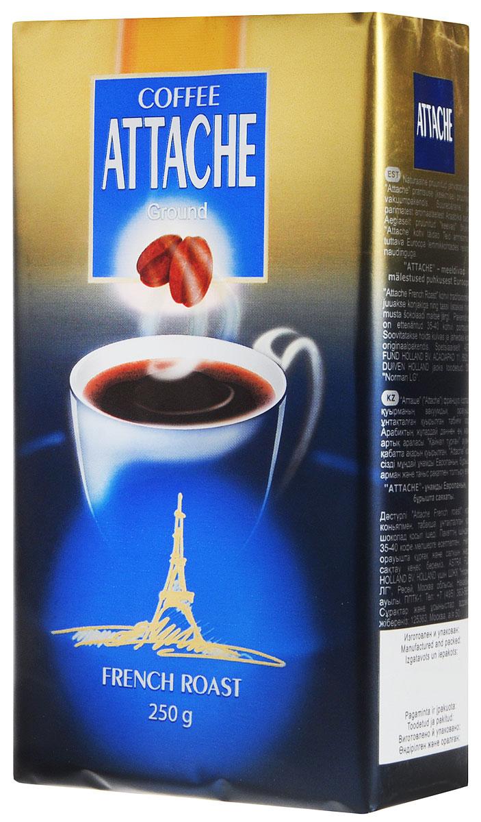 Attache Французская обжарка кофе молотый, 250 г имбирь молотый по вкусу 25 г