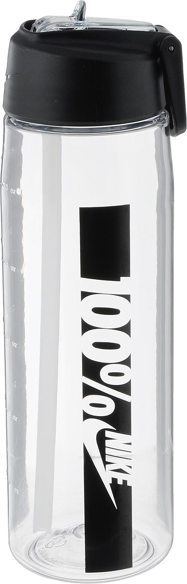 Бутылка для воды Nike Core Flow 100 Water Bottle 24oz, цвет: прозрачный, черный, 709 млVT-1520(SR)Бутылка для воды Nike Core Flow 100 Water Bottle 24oz с горлышком, которое поднимается на 90 градусов, что обеспечивает простоту в использовании.Бутылка дополнена измерительной шкалой. Возможно мытье в посудомоечной машине, легко собирается и разбирается.Технология материала Tritan обеспечивает долговечность и ударопрочность.Объем: 709 мл.Высота: 23 см.Диаметр (по нижнему краю): 7 см.