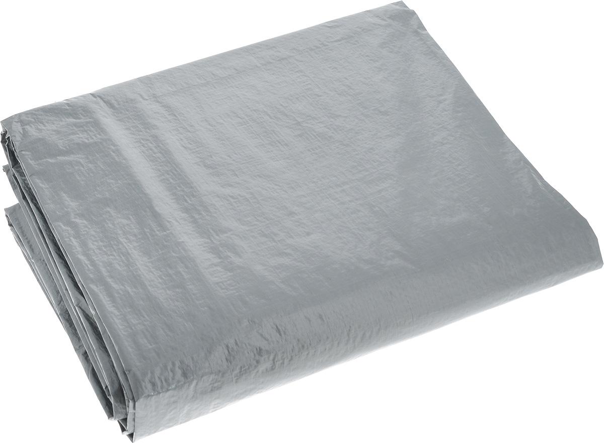 Тент терпаулинг Indiana, цвет: серый, 3 х 4 м501000000_серыйТент тарпаулин Indiana изготовлен из высокосортного полиэтиленового сырья и ламинирован прозрачной полиэтиленовой пленкой с пропиткой от УФ-излучения. Именно этим тент тарпаулин и отличается от полипропиленовых тентов, которые не имеют защиты от УФ-воздействия. Тент оснащен люверсами, благодаря которым его можно монтировать на каркасную основу или использовать для свободного укрытия объектов. Тент используется для укрытия стройматериалов от дождя и снега, для сооружения временных навесов, для закрытия оконных проемов, для укрытия грузов, прицепов, автомашин, в качестве навесов, палаток, подстилок в походах, на отдыхе. Плотность: 120 г/м2. Размер: 3 м х 4 м.