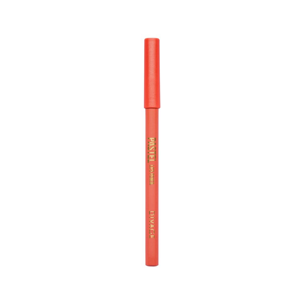 Divage Карандаш Для Губ Pastel - Тон № 2207MFM-3101Мягкий карандаш подчеркивает контур губ, делая их форму более выразительной. Карандаш имеет удобную форму треугольника, благодаря которой не скатывается с плоской поверхности. Содержит смягчающие масла жожоба, соевых бобов, экстракт алоэ вера, витамины Е. Масло жожоба и соевых бобов придаёт контуру кондиционирующее и смягчающее свойства. Оно регулирует водно-липидный баланс, предохраняя кожу губ от сухости. Открой для себя сочетание глубокого цвета и деликатного ухода с карандашами PASTEL от DIVAGE!