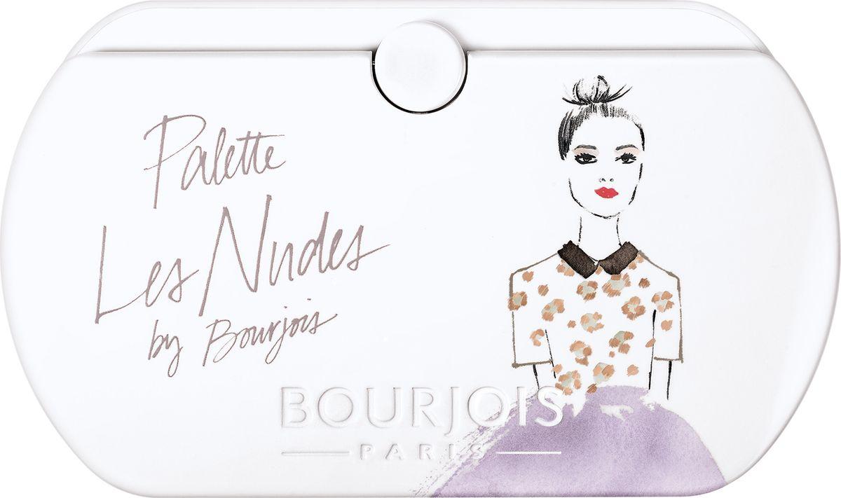 Bourjois Палетка Теней Palette Тон 0129199153001Кремово-пудровая текстура. 8 глубоких оттенков в 1 палетке.