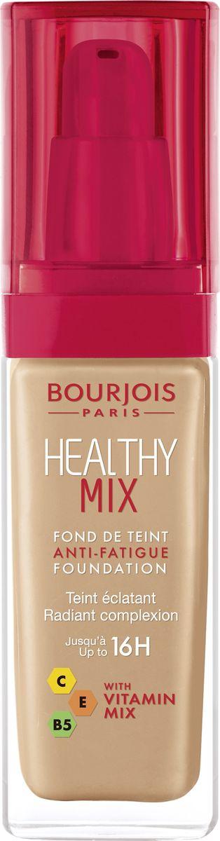 Bourjois Тональный Крем Healthy Mix Relaunch Тон 5529199601055Тональный крем Healthy Mix, обогащенный витаминами, скрывает следы усталости и несовершенства тона, усиливая естественное сияние.