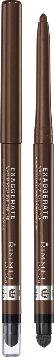 Rimmel Карандаш Для Глаз Exaggerate Waterproof Eye Definer 212 тон eye definer brush кисть для макияжа глаз