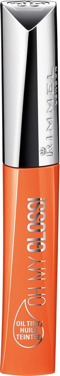 Rimmel Oh My Gloss Oil Tint Блеск-тинт для губ, тон 6005010777139655Новая линия средств для губ - Oh My Gloss! Oil Tint. Это масло для губ, создающее полупрозрачное покрытие, красиво оттеняющее родной пигмент губ, придающее им блеск. Но основной функцией нового продукта является забота о губах. Формула содержит кокосовое, абиссинское масла, которые увлажняют кожу.