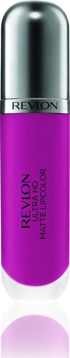 Revlon Помада Для Губ Ultra Hd Matte Lipcolor Intensity 66580284338Revlon Ultra HD™ Matte Lipcolor - бархатный цвет на твоих губах. Уникальная гелевая формула создает невесомую текстуру, а отсутствие воска сохраняет губы увлажненными и придает ощущение комфорта. Легкость нанесения, устойчивость и удобный апликатор – вот почему помада идеально ложиться на губы, придавая им яркий, насыщенный цвет и объем. Обладает приятным ароматом сливок, ванили и спелого манго. Доступен в 7 ярких, трендовых оттенках.