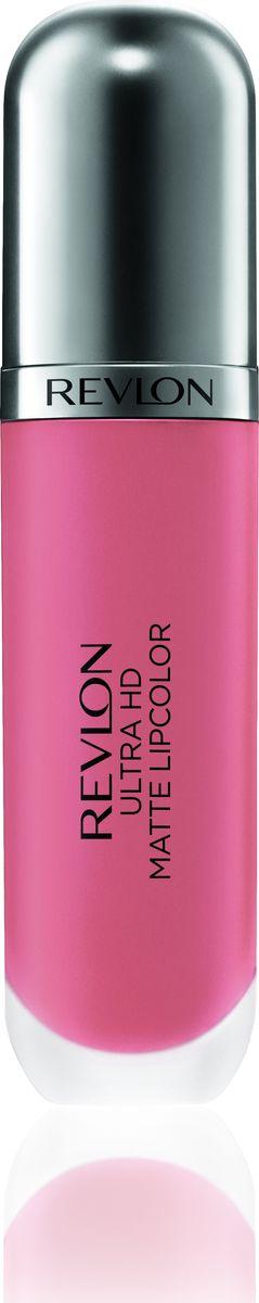 Revlon Помада Для Губ Ultra Hd Matte Lipcolor Embrace 640PMB 0805Revlon Ultra HD™ Matte Lipcolor - бархатный цвет на твоих губах. Уникальная гелевая формула создает невесомую текстуру, а отсутствие воска сохраняет губы увлажненными и придает ощущение комфорта. Легкость нанесения, устойчивость и удобный апликатор – вот почему помада идеально ложиться на губы, придавая им яркий, насыщенный цвет и объем. Обладает приятным ароматом сливок, ванили и спелого манго. Доступен в 7 ярких, трендовых оттенках.