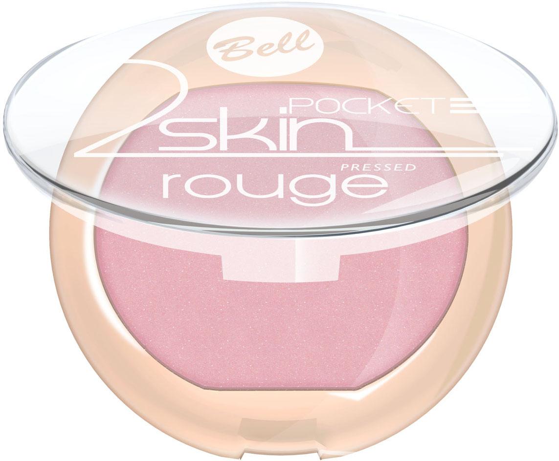 Bell Румяна Компактные 2 Skin Rouge Тон 5126102025Бархатная текстура румян создает эффект тонкой вуали на кожи. Легко и равномерно наносится, придавая кожи легкое сияние. Роскошные оттенки румян выгодно подчеркнут все достоинства Вашего макияжа