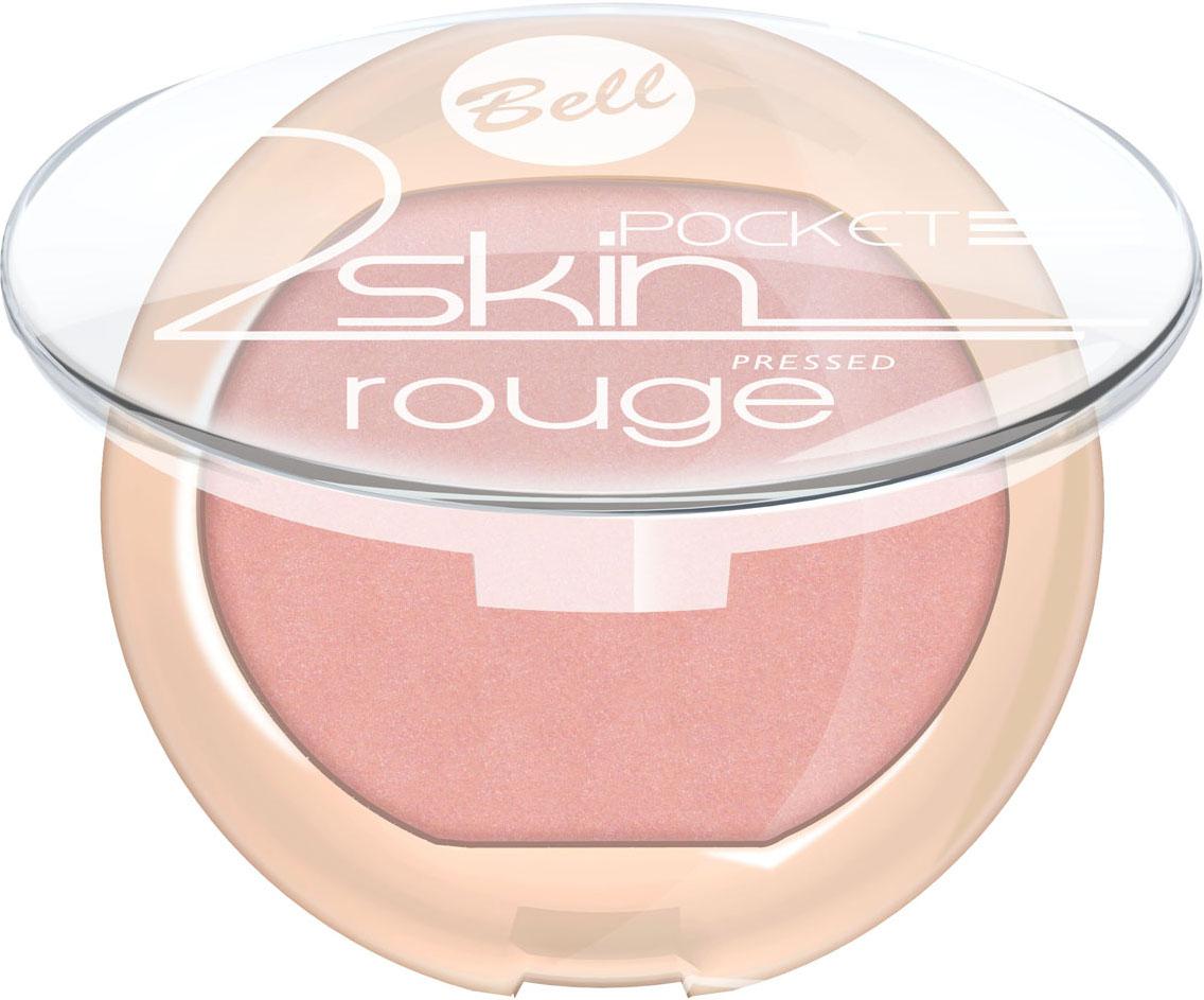 Bell Румяна Компактные 2 Skin Rouge Тон 551092018Бархатная текстура румян создает эффект тонкой вуали на кожи. Легко и равномерно наносится, придавая кожи легкое сияние. Роскошные оттенки румян выгодно подчеркнут все достоинства Вашего макияжа