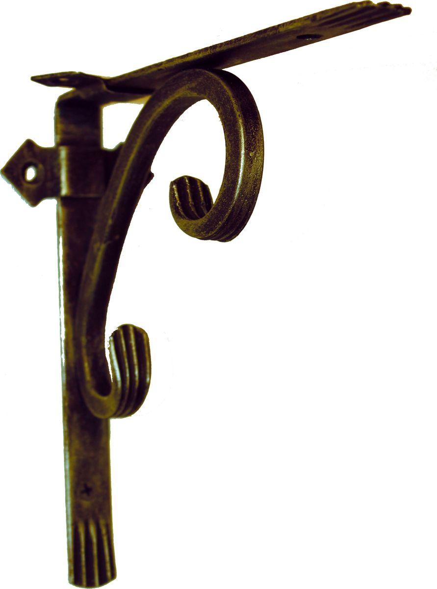 Держатель кованный для кашпо AVMmetall, цвет: черный, бронзовый. 200-1-bl-br531-401Кованный держатель для кашпо AVMmetall, изготовленный из высококачественной стали, декорирован патиной. Изделие станет прекрасным украшением вашего сада. С его помощью вы сможете расположить корзину с цветами, а также установить полку в любом удобном месте: на даче, участке, на городском балконе и в других местах.Такой держатель с годами не потеряет своей привлекательности. При правильном монтаже выдерживает статичную нагрузку до 150 кг. Размер держателя (ДхШ): 20 х 20 см.
