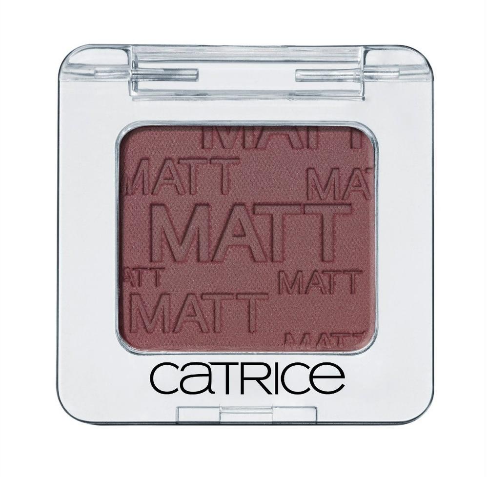 Catrice Тени для век одинарные Absolute Eye Colour 990 Dont Cry For Me Aubergina коричневый матовый 2 грBcssHA006Высокопигментированные пудровые тени, широкая цветовая гамма, стойкость, легкость в нанесении и разнообразие эффектов.
