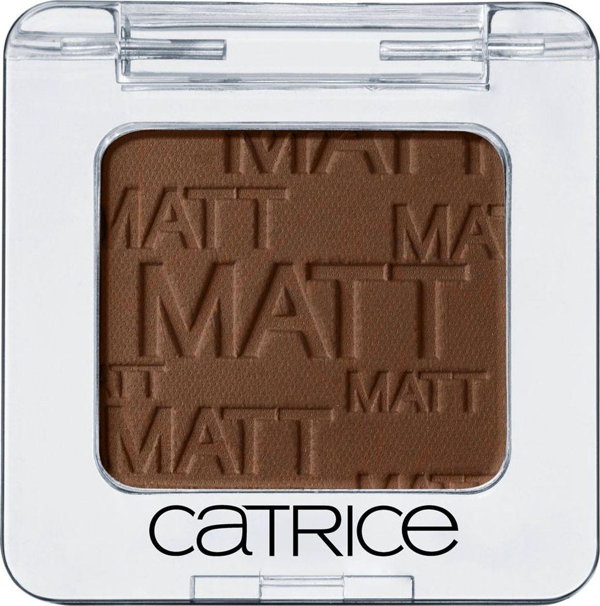 Catrice Тени для век одинарные Absolute Eye Colour 930 Hakuna MATTata коричневый матовый 2 грMFM-3101Высокопигментированные пудровые тени, широкая цветовая гамма, стойкость, легкость в нанесении и разнообразие эффектов.
