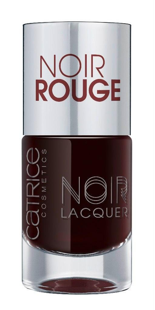 Catrice Лак для ногтей Noir Noir Lacquers 02 Noir Rouge темная вишня 10 млперфорационные unisexСтойкая формула и эффектный глянцевый блеск, новые лакиCATRICENoirNoirLacquers– словно коллекция «маленьких черных платьев» для ногтей! В каждом из них глубокий черный тон дополнен едва уловимой ноткой цвета – зеленого, синего, фиолетового или красного. Плотная текстура обеспечивает равномерное нанесение.