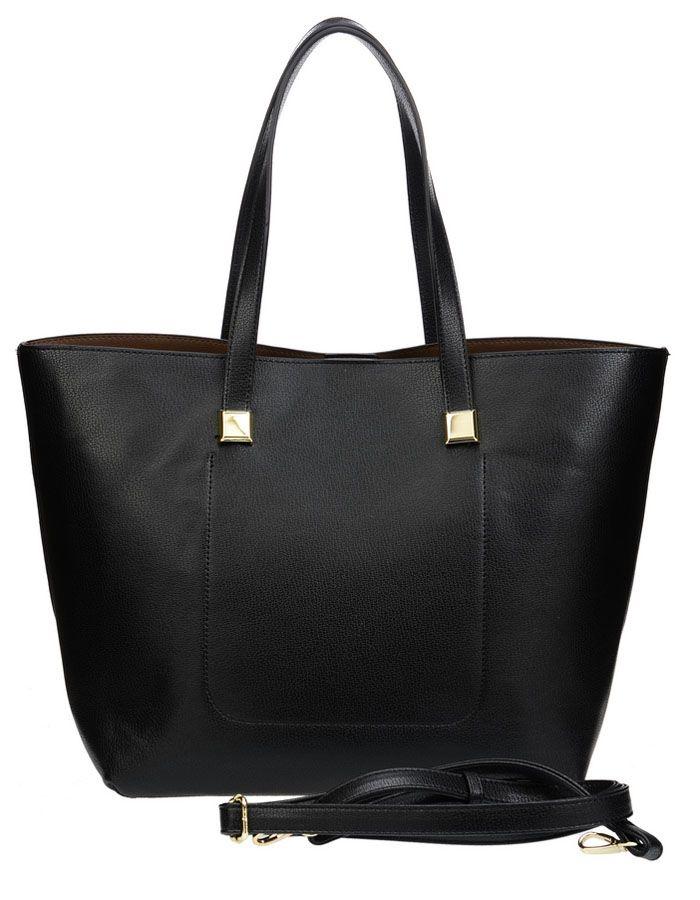 Сумка женская Vera Victoria Vito, цвет: черный. 32-523-14106черныеТренд сезона - две сумки в одной для практичных женщин, которые любят всегда все брать с собой. Большая сумка довольно вместительная, и вместе с тем простая, в нее вы можете сложить крупные предметы. Она выполнена полностью из экокожи. Модель застегивается на магнитную кнопку, внутри два кармана, один из которых на молнии. Внутри прямоугольная сумочка на молнии (35 см х 23см) для более мелких вещей, выполнена из экокожи, внутри подкладка из текстиля, имеет карман на молнии и кармашки для мелочей. Дополнительно плечевой ремень на карабине.