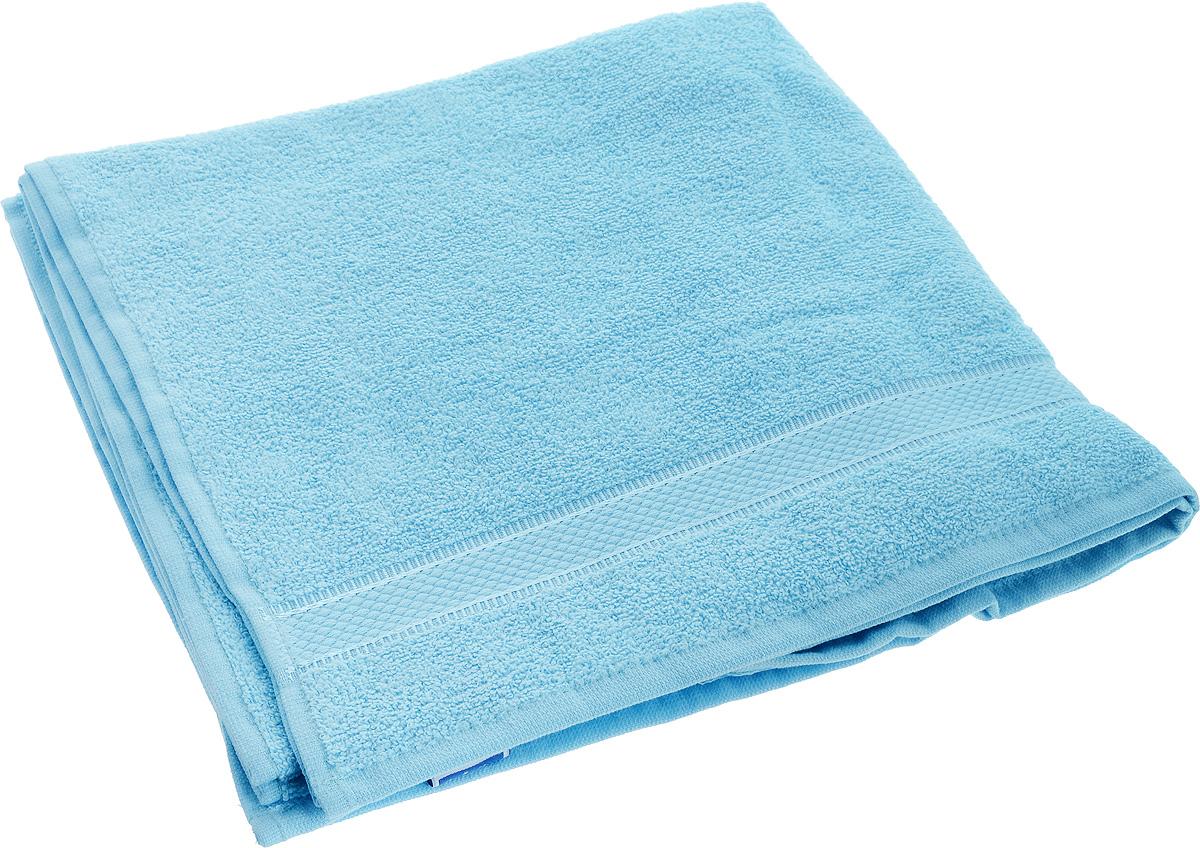 Полотенце Brielle Basic, цвет: голубой, 70 х 140 смS03301004Полотенце Brielle Basic выполнено из натурального хлопка.Изделие очень мягкое, оно отлично впитывает влагу, быстро сохнет, сохраняет яркость цвета и не теряет формы даже после многократных стирок. Полотенце Brielle Basic очень практично и неприхотливо в уходе. Такое полотенце послужит приятным подарком.