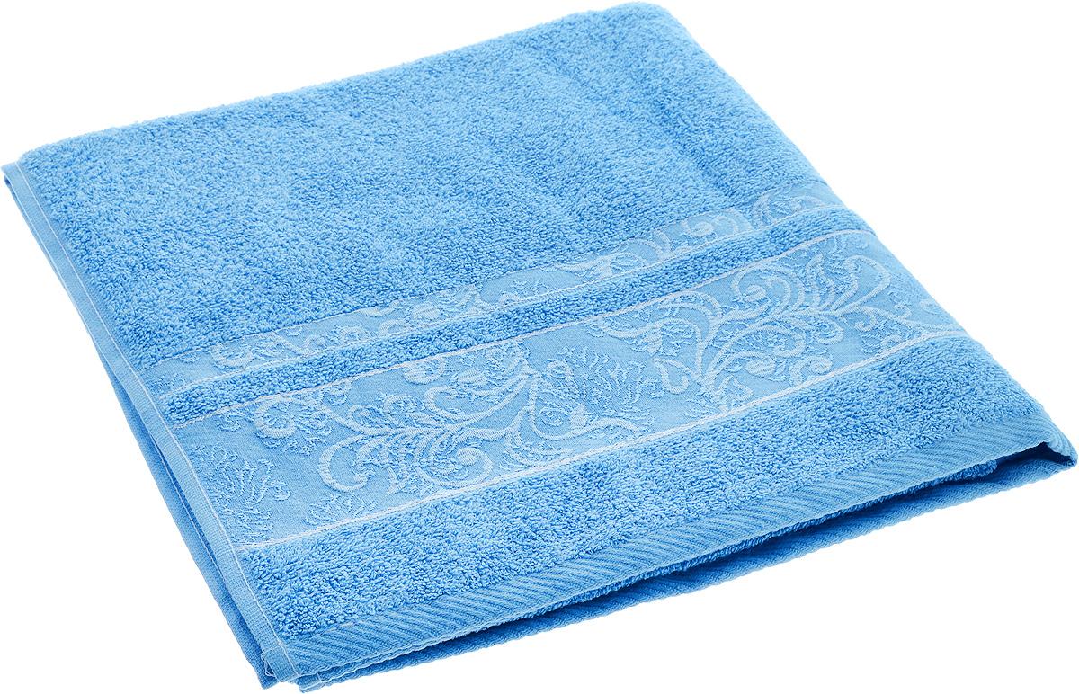 Полотенце Brielle Sarmasik, цвет: синий, 70 х 140 смC0042416Полотенце Brielle Sarmasik выполнено из натурального хлопка.Изделие очень мягкое, оно отлично впитывает влагу, быстро сохнет, сохраняет яркость цвета и не теряет формы даже после многократных стирок. Модель оформлена узором. Полотенце Brielle Sarmasik очень практично и неприхотливо в уходе. Такое полотенце послужит приятным подарком.