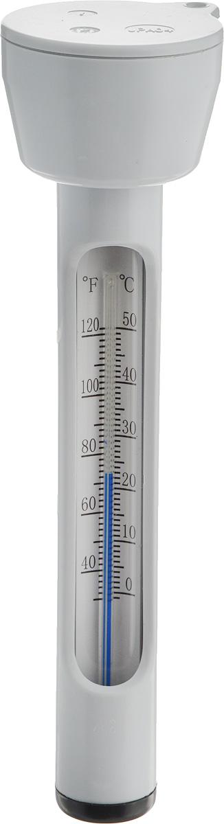 Термометр для бассейна Intex. с290396102Термометр Intex позволяет определить температуру воды в бассейне и в ванной-спа, обеспечивающую комфортное плавание. Изделие выполнено из ударопрочного пластика. Плавает на поверхности воды, что бы вы могли видеть температуру воды в любом месте бассейна. Имеет отверстие в верхней части для фиксирующего шнурка.