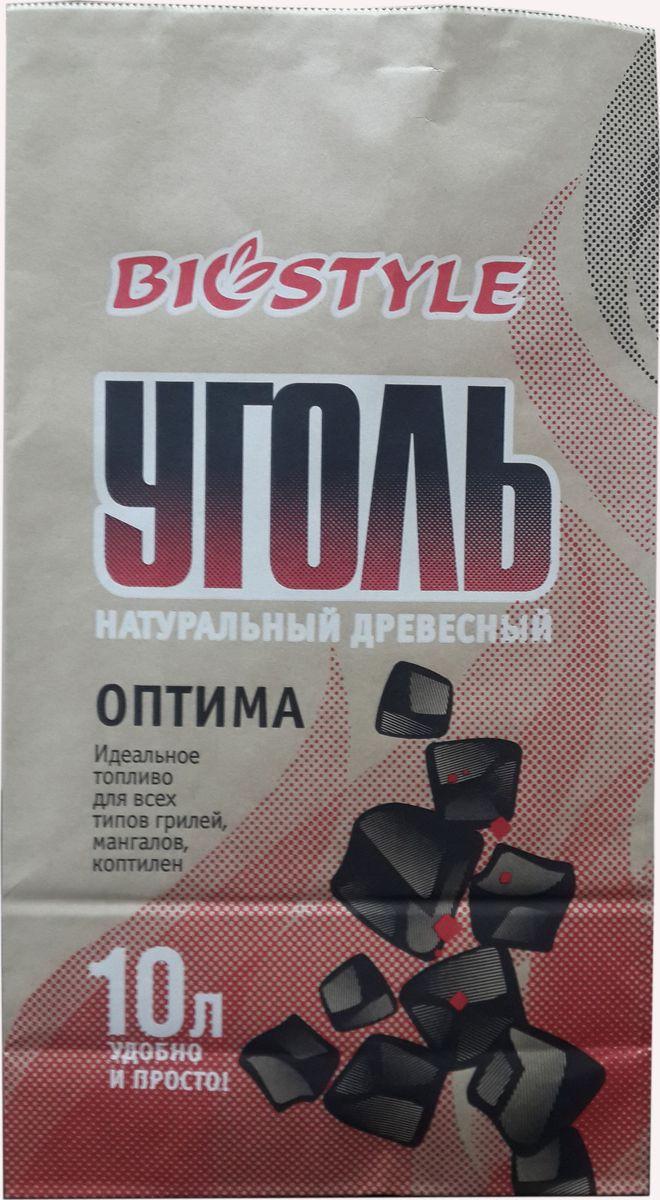 Уголь древесный Biostyle Оптима, 10 л19201Древесный уголь Biostyle Оптима изготовлен из абсолютно натуральных материалов, он чрезвычайно легок в использовании, которое не предполагает добавления каких либо химических веществ. Это существенно улучшает вкус приготовляемых продуктов. Уголь Biostyle Оптима легок в использовании, и после выполнения нескольких элементарных действий он быстро разгорится без использования дополнительных горючих материалов.
