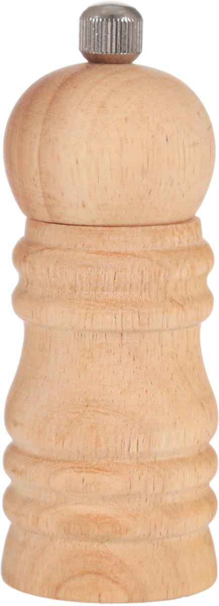 Мельница для перца Metaltex, высота 11,5 см4630003364517Мельница для перца Metaltex изготовлена из дерева и стали. Жернова в основании перцемолки изготовлены из керамики. Мельница легка в использовании, стоит только покрутить верхнюю часть мельницы, и вы с легкостью сможете поперчить по своему вкусу любое блюдо.Высота: 11,5 см.Диаметр основания: 4 см.