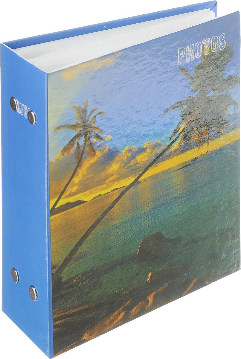 Фотоальбом Pioneer Deep Sea, 100 фотографий, цвет: синий, зеленый, 10 x 15 смFS-80299Фотоальбом Pioneer Deep Sea поможет красиво оформить ваши самые интересныефотографии. Обложка из толстого ламинированного картона оформлена принтом. Фотоальбом рассчитан на 100 фотографий форматом 10 x 15 см. Внутри содержится блок из 50 листов с окошками из полипропилена. Такой необычный фотоальбом позволит легко заполнить страницы вашей истории, и с годами ничего не забудется.Тип обложки: ламинированный картон.Тип листов: полипропиленовые.Тип переплета: высокочастотная сварка.Кол-во фотографий: 100.Материалы, использованные в изготовлении альбома, обеспечивают высокое качество хранения ваших фотографий, поэтому фотографии не желтеют со временем.