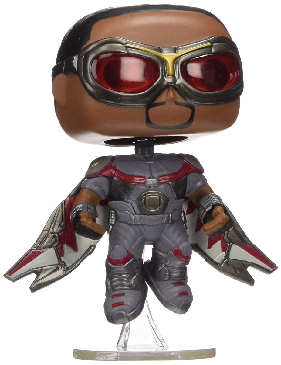 Funko POP! Bobble Фигурка Captain America Civil War: Falcon, Underground Toys