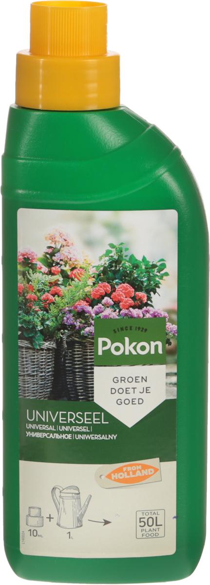 Удобрение Pokon, универсальное, для всех видов горшечных растений, 500 млL140025Универсальное удобрение Pokon подойдет для всех видов горшечных растений. Условия у вас дома далеки от естественных условий обитания растений, поэтому так важен хороший уход за ними. Это удобрение дает комнатным растениям все, чтобы оставаться сильными и здоровыми. Необходимые питательные вещества способствуют росту и цветению. Натуральная добавка из гуминовых экстрактов оптимизирует естественный баланс питательного грунта и улучшает доступ питательных веществ к растениям. Благодаря этому улучшается здоровье и укрепляется сила растений.Состав: жидкое удобрение с соотношением NPK 7 + 3 + 7 и с добавкой микроэлементов, содержащее гуминовые экстракты с натуральными питательными веществами.Удобрение соответствует нормам ЕС.Товар сертифицирован.