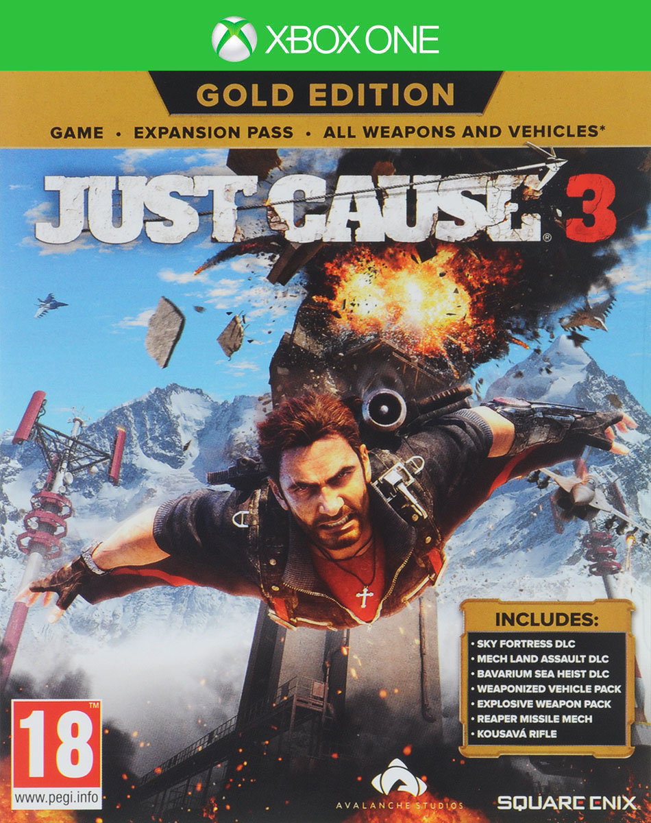 Just Cause 3. Gold Edition (Xbox One), Avalanche Studios