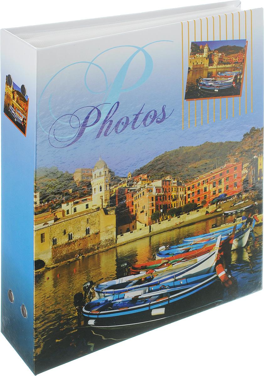 Фотоальбом Pioneer Blue Sea, 200 фотографий, цвет: синий, 10 x 15 смRG-D31SФотоальбом Pioneer Blue Sea поможет красиво оформить ваши самые интересныефотографии. Обложка из толстого ламинированного картона оформлена оригинальным принтом. Фотоальбом рассчитан на 200 фотографий форматом 10 x 15 см. Внутри содержится блок из 50 листов с окошками из полипропилена, одна страница оформлена двумя окошками для фотографий. Такой необычный фотоальбом позволит легко заполнить страницы вашей истории, и с годами ничего не забудется.Тип обложки: картон.Тип листов: полипропиленовые.Тип переплета: высокочастотная сварка. Материалы, использованные в изготовлении альбома, обеспечивают высокое качество хранения ваших фотографий, поэтому фотографии не желтеют со временем.
