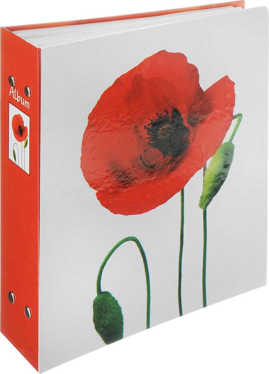 Фотоальбом Pioneer Lancome, 200 фотографий, цвет: красный, 10 x 15 см41619Фотоальбом Pioneer Lancome поможет красиво оформить ваши самые интересные фотографии. Обложка из толстого ламинированного картона оформлена принтом с маком. Фотоальбом рассчитан на 200 фотографий форматом 10 x 15 см. Внутри содержится блок из 50 листов с окошками из полипропилена, одна страница оформлена двумя окошками для фотографий. Такой необычный фотоальбом позволит легко заполнить страницы вашей истории, и с годами ничего не забудется.Тип обложки: картон.Тип листов: полипропиленовые.Тип переплета: высокочастотная сварка. Материалы, использованные в изготовлении альбома, обеспечивают высокое качество хранения ваших фотографий, поэтому фотографии не желтеют со временем.