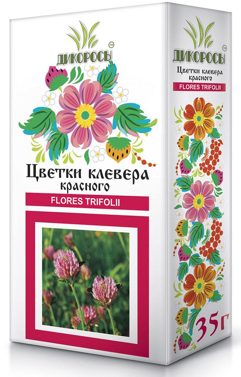 Дикоросы клевера красного цветки, 35 г