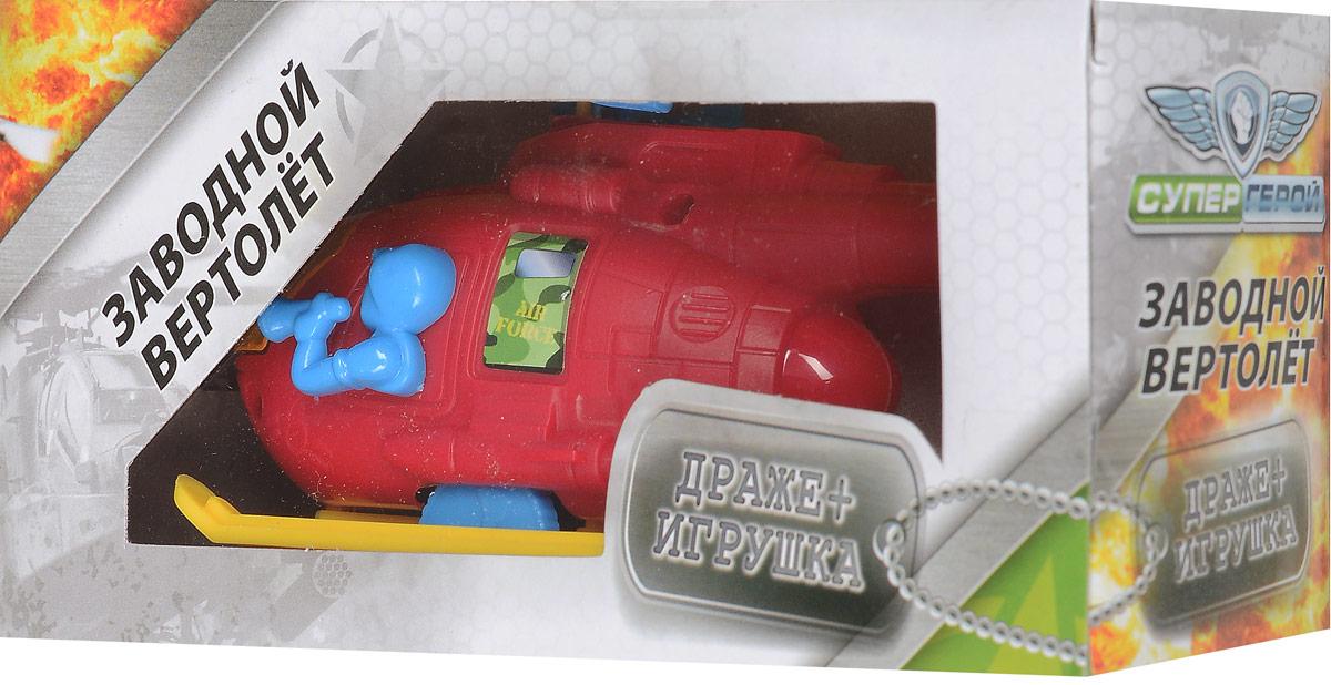 Конфитрейд Супергерой Вертолетики фруктовое драже с игрушкой, 5 гУТ19124В комплект входят вертолет с заводным механизмом (сзади находится веревочка) и драже со вкусом клубники. Игрушка рекомендуется для детей старше трех лет.Уважаемые клиенты!Обращаем ваше внимание на допустимые незначительные изменения в дизайне товара - некоторые детали могут отличаться по форме (цвету) от товара. Поставка осуществляется в зависимости от наличия на складе.