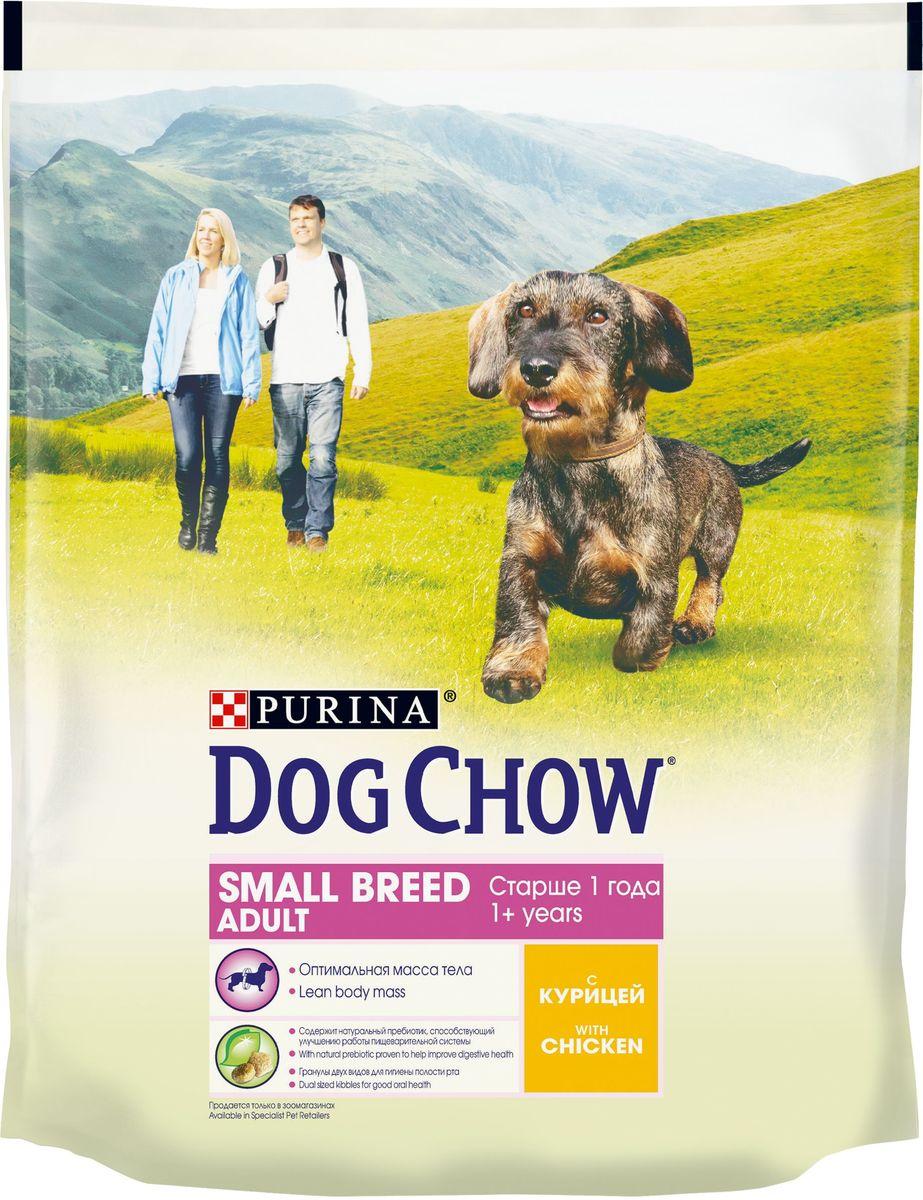 Корм сухой Dog Chow Adult, для взрослых собак мелких пород, с курицей, 800 г12171996Корм сухой Dog Chow Adult - полнорационное питание для взрослых собак. Корм обогащен мясом и специально создан для питания в условиях продолжающегося формирования организма и удовлетворения энергетических потребностей взрослых собак.Рецептура кормов Dog Chow составлена таким образом, чтобы ваша взрослая собака получала необходимое количество питательных веществ. Товар сертифицирован.