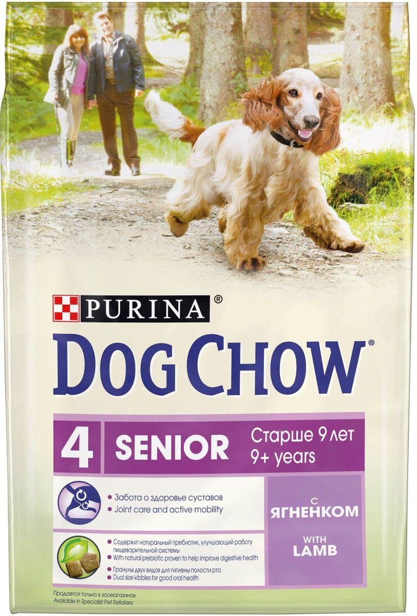 Корм сухой Dog Chow Senior, для взрослых собак старше 9 лет, с ягненком, 2,5 кг63442Сухой корм Dog Chow Senior - 100% полнорационное сбалансированное питание для взрослых собак старшего возраста. Корм с высоким содержание мяса помогает взрослым собакам сохранять оптимальную мышечную массу тела и поддерживать хорошую работу сердца. Товар сертифицирован.