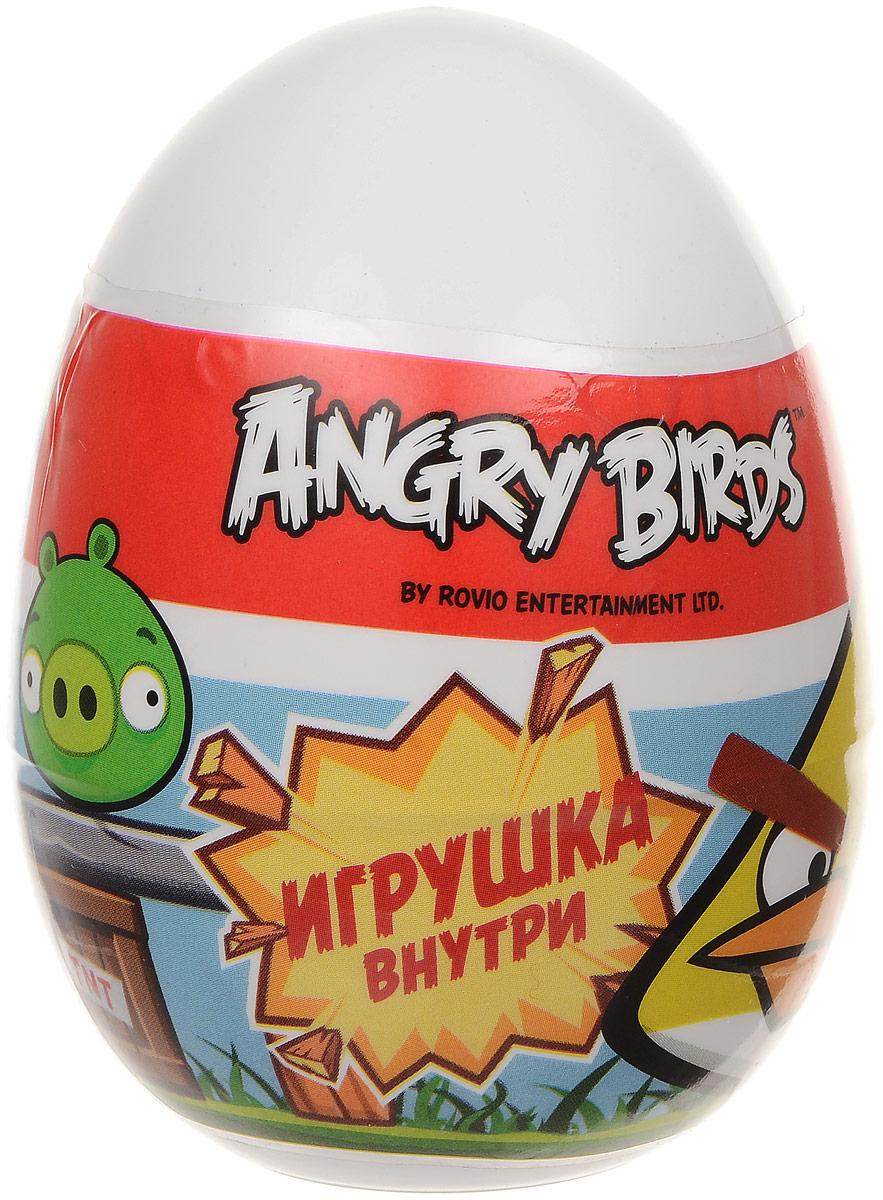Angry Birds пластиковое яйцо с драже, 20 г6909731015120Пластиковое яйцо по мотивам всемирно известно игры Angry Birds содержит драже со вкусами клубники, яблока и лимона, а также уникальную коллекционную игрушку одного из главных героев серии игр.