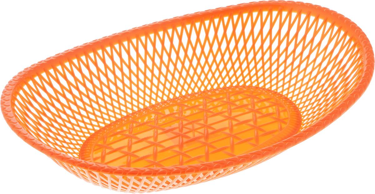 Сухарница Альтернатива, цвет: оранжевый, 30 х 20 х 5,5 смВетерок 2ГФОвальная сухарница Альтернатива выполнена из высококачественного пластика. Стенки декорированы перфорацией. Такая сухарница послужит приятным и полезным сувениром для близких и знакомых и, несомненно, доставит массу положительных эмоций своему обладателю.