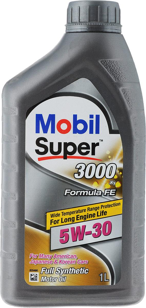 Масло моторное Mobil Super 3000 X1 Formula FE, класс вязкости 5W-30, 1 лS03301004Моторное масло Mobil Super 3000 X1 Formula FE — высококачественное синтетическое энергосберегающее масло для современных бензиновых и дизельных двигателей легковых автомобилей Ford, которое рекомендуется в соответствии с допуском Ford WSS-M2C913-C и заменяет предыдущие допуски Ford WSS-M2C913А и Ford WSS-M2C913В.Масло Mobil Super 3000 X1 Formula FE было специально разработано для бензиновых и дизельных легковых автомобилей, легких грузовиков и микроавтобусов, требующих применения маловязких энергосберегающих масел. Масло соответствует допуску Ford WSS-M2C913-С, но может также применяться и в других автомобилях, для которых рекомендованы масла такого же уровня качества и класса вязкости.Моторное масло Mobil Super 3000 X1 Formula FE обеспечивает следующие преимущества:- повышенная топливная экономичность;- отличные низкотемпературные свойства обеспечивают легкий запуск двигателя, а также защиту двигателя от износа при низкой окружающей температуре;- увеличенные интервалы замены масла благодаря улучшенным антиокислительным свойствам.Товар сертифицирован.
