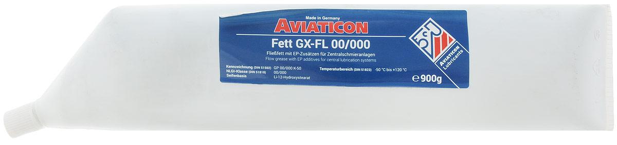 Смазка пластичная Finke Aviaticon. Fett GX-FL, NLGI-класс 00/000, 900 млEL-0501.04Finke Aviaticon. Fett GX-FL - это полужидкая пластичная смазка, применяемая для смазывания централизованных систем смазки в автомобилях. За счет использования в составе загустителя разных катионов металлов обладает повышенными защитными свойствами. Обеспечивает оптимальные адгезионные свойства. Выдерживает высокие нагрузки. Водостойка. Гарантирует надежное смазывание деталей системы смазки.Температура эксплуатации: от -50°С до +120°С. Основа: литиевое мыло.Товар сертифицирован.