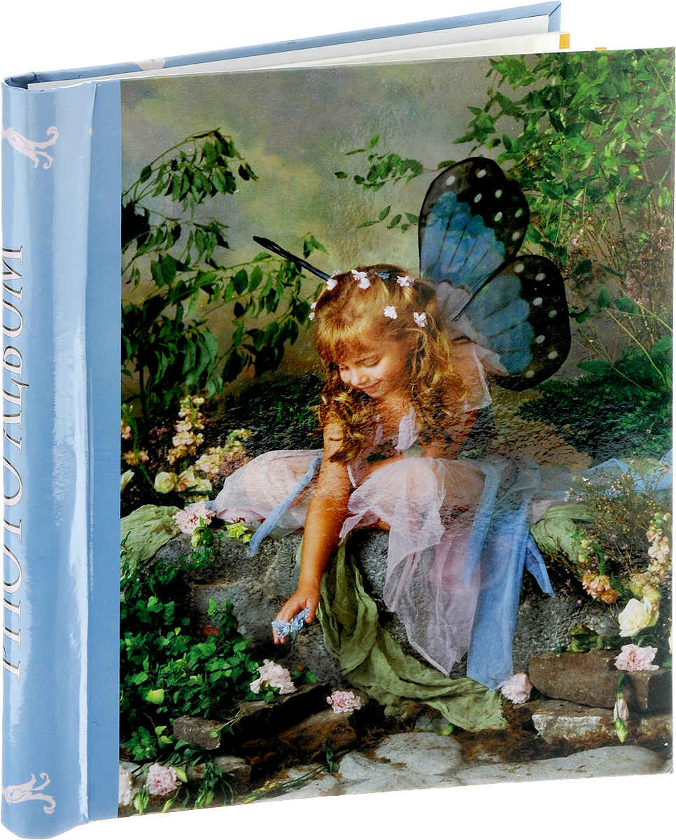 Фотоальбом Pioneer Liza Jane-Fairy, 10 магнитных листов, цвет: голубой, зеленый, 23 х 28 см3М1425_розовый/9840-30Фотоальбом Pioneer Liza Jane-Fairy поможет красиво оформить ваши самые интересные фотографии. Обложка, выполненная из толстого ламинированного картона, оформлена оригинальным принтом. Внутри содержится блок из 10 белых магнитных листов. Тип переплета - спираль. Нам всегда так приятно вспоминать о самых счастливых моментах жизни, запечатленных на фотографиях. Поэтому фотоальбом является универсальным подарком к любому празднику. Количество листов: 10.