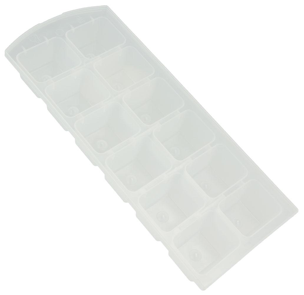 Набор форм для льда Metaltex, 2 шт79 02471Гибкие формы для льда Metaltex выполнены из полупрозрачного гибкого пластика. На каждом листе расположены 12 прямоугольных формочек. Благодаря тому, что формочки изготовлены из гибкого пластика, готовый лед вынимать легко и просто. Чтобы достать льдинки, эту форму не нужно держать под теплой водой или использовать нож. Размер формы: 21 х 9 х 3 см. Размер ячейки: 3,7 х 3 х 2,5 см.