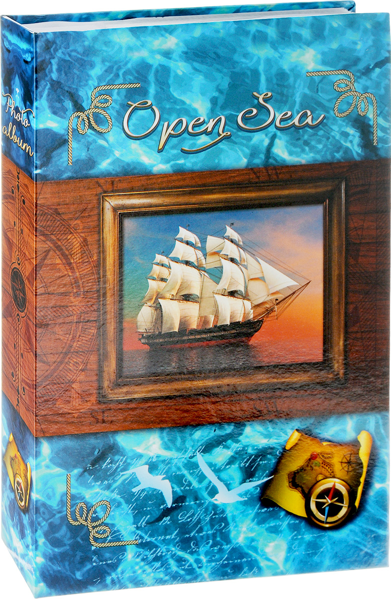 Фотоальбом Pioneer Open Sea, 300 фотографий, цвет: голубой, 10 x 15 смPLATINUM BIN-112182 Белый с золотом (White with gold)Фотоальбом Pioneer Open Sea поможет красиво оформить ваши самые интересные фотографии. Обложка из толстого ламинированного картона оформлена принтом. Фотоальбом рассчитан на 300 фотографий форматом 10 x 15 см. Внутри содержится блок из 50 листов, на каждом из которых имеются поля для заполнения и три кармашка для фотографий. Такой необычный фотоальбом позволит легко заполнить страницы вашей истории, и с годами ничего не забудется.Тип обложки: ламинированный картон.Тип листов: бумажные.Тип переплета: клеевой.Кол-во фотографий: 300.Материалы, использованные в изготовлении альбома, обеспечивают высокое качество хранения ваших фотографий, поэтому фотографии не желтеют со временем.