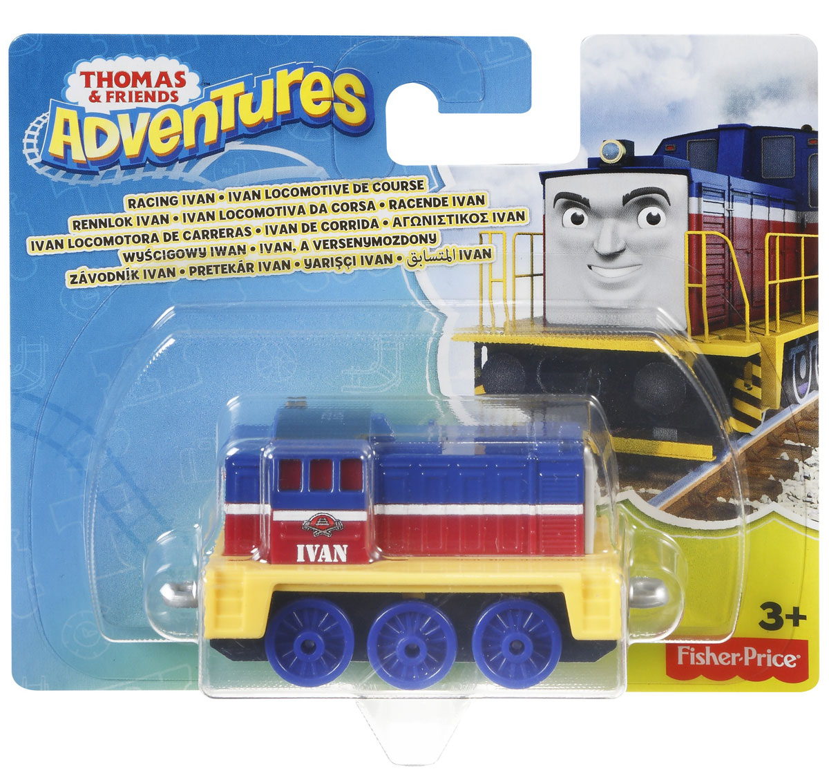 Thomas & Friends Паровозик Иван
