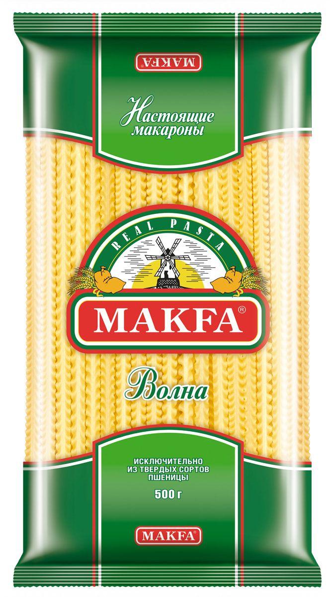 Makfa Волна лапша широкая, 500 г makfa гречневая ядрица 800 г