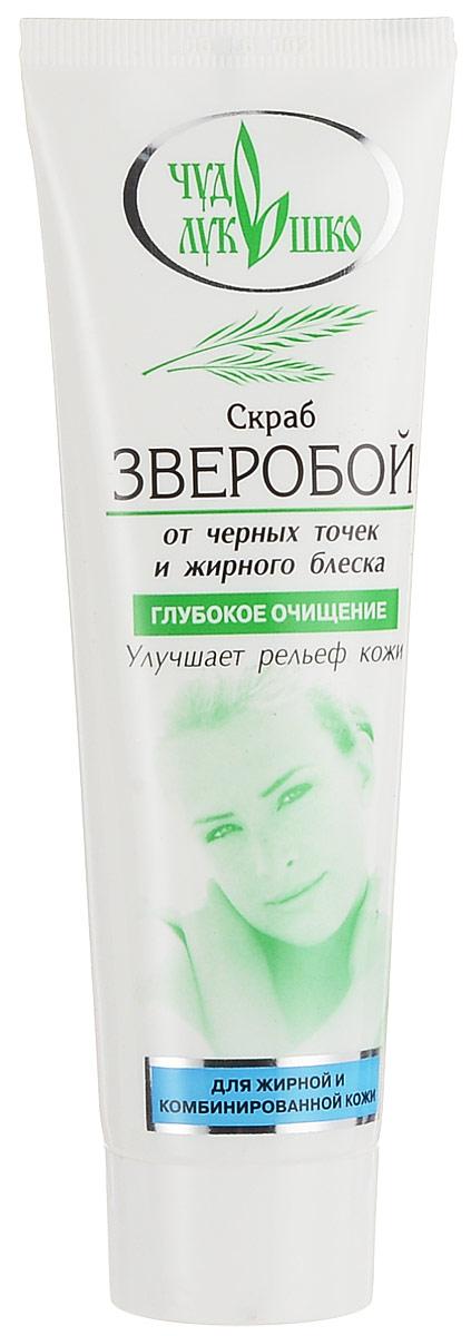 Чудо Лукошко Скраб Зверобой Для жирной комбинированной кожи лица от черных точек и жирного блеска, 100 млAC-1121RDЭффективно и бережно очищает кожу лица, восстанавливая ее, стимулирует обновление кожи, придает матовость. Мягкий абразив глубоко очищает поры, удаляя излишние жировые выделения, продукты их распада и загрязнения. Зверобой содержит витамин А, обновляет клетки, уменьшает отеки, предохраняет кожу от старения. Дуб содержит дубильные вещества и танин, обладает вяжущим, ранозаживляющим и противовоспалительным эффектом, регулирует деятельность сальных желез, сужает поры. Чабрец дезинфицирует, подсушивает и снимает раздражение, шелушение и высыпания на коже, восстанавливает здоровый цвет.Уважаемые клиенты! Обращаем ваше внимание на возможные изменения в дизайне упаковки. Качественные характеристики товара остаются неизменными. Поставка осуществляется в зависимости от наличия на складе.