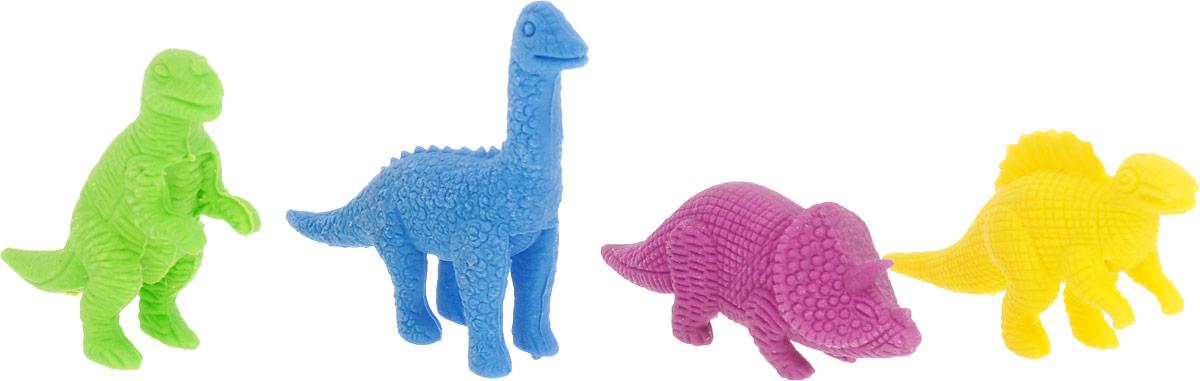 Бумбарам Набор ластиков Динозавры 4 шт72523WDЭти разноцветные динозавры пригодятся в школе, на работе и дома. Набор Бумбарам Динозавры состоит из четырех ластиков в виде разных доисторических животных.Коллекционеры порадуются детализации и качеству фигурок. Благодаря мягкой резине ластики хорошо стирают и не оставляют следов.Набор ластиков - это хорошая идея для корпоративных подарков, сувениров или игровых моделей.