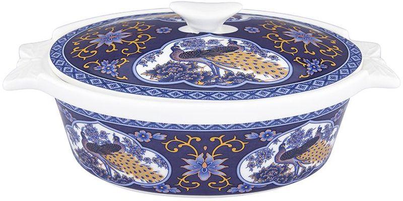 Блюдо для запекания Elan Gallery Павлин синий, с крышкой, 575 мл54 009312Блюдо для запекания и сервировки украсит Ваш праздничный стол. Размер этого блюда подходит и для подачи горячего, и для приготовления и хранения слоеных салатов. Соберите всю коллекцию предметов сервировки Павлин синий и Ваши гости будут в восторге! Изделие имеет подарочную упаковку, поэтому станет желанным подарком для Ваших близких! Объем 575 мл.