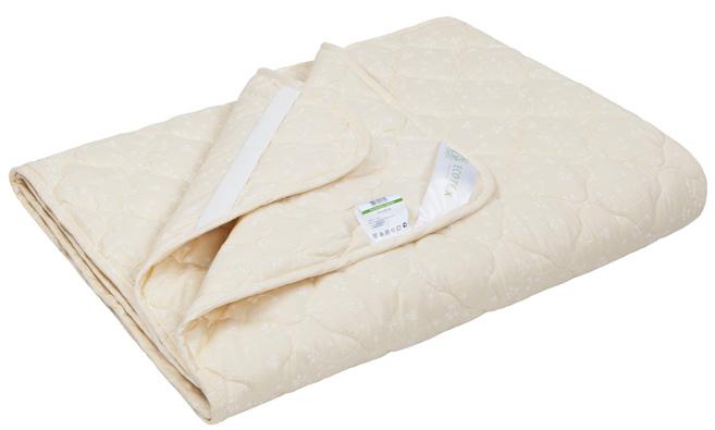 Наматрасник Ecotex Коттон, наполнитель: хлопок, цвет: слоновая кость, 200 х 200 смBL-1B- комфортный микроклимат во время сна: отличная терморегуляция, гигроскопичность и высокая воздухопроницаемость;- гипоаллергенность и экологичность;- антистатичность;- долговечность.