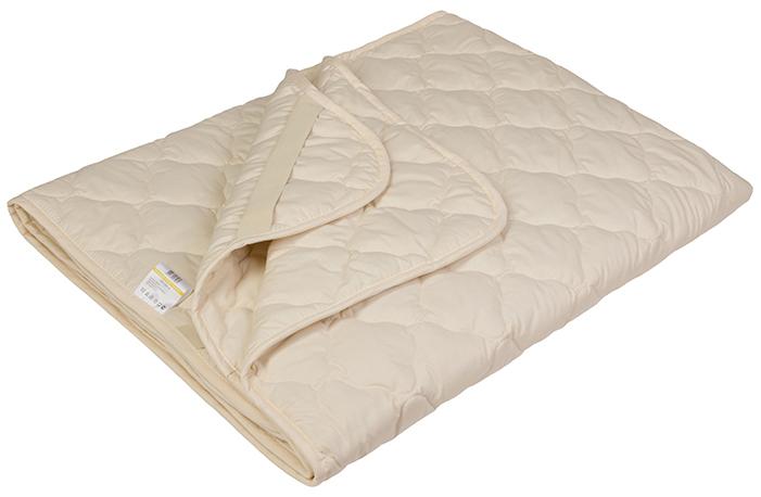 Наматрасник Ecotex Овечка-Комфорт, наполнитель: овечья шерсть, цвет: светло-бежевый, 90 х 200 смNLED-441-7W-BK- сухое и здоровое тепло: создает комфортный микроклимат во время сна в любое время года;- долговечность и экологичность;- комфорт: антистатичность, мягкость, легкость и объем.