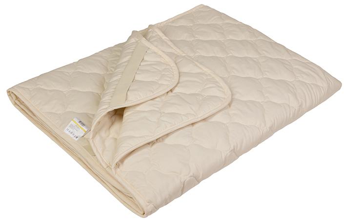 Наматрасник Ecotex Овечка-Комфорт, наполнитель: овечья шерсть, цвет: светло-бежевый, 160 х 200 см16056- сухое и здоровое тепло: создает комфортный микроклимат во время сна в любое время года;- долговечность и экологичность;- комфорт: антистатичность, мягкость, легкость и объем.